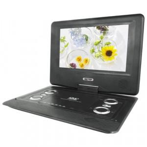 Легкий и компактный плеер DVD LS-129T имеет поворотный ЖК экран
