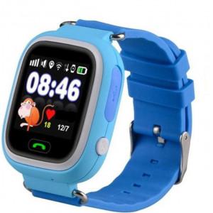 Детские часы Smart Baby Watch Q90 голубые