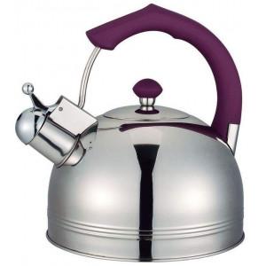 """Чайник """"Bayerhoff"""", BH - 815  3,5 л. с фиолетовой ручкой"""
