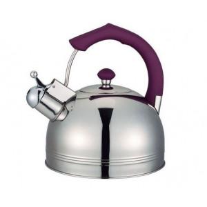 """Чайник """"Bayerhoff"""", BH - 824  4 л. с фиолетовой ручкой"""