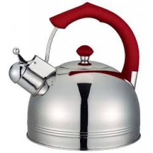 """Чайник """"Bayerhoff"""", BH - 825  4 л. с красной ручкой"""
