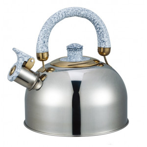 """Чайник """"Bayerhoff"""", BH - 851  4,5 л. с белой ручкой"""