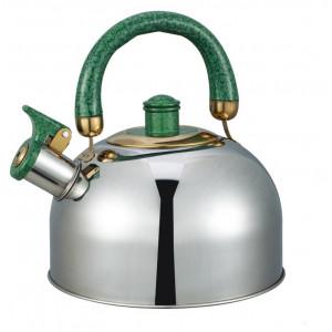 """Чайник """"Bayerhoff"""", BH - 852  4,5 л. с зелёной ручкой"""