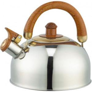 """Чайник """"Bayerhoff"""", BH - 864  4,5 л. с коричневой ручкой"""