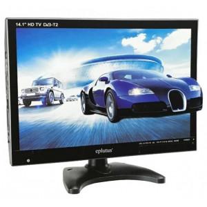 "ЦИФРОВОЙ ТЕЛЕВИЗОР 14.1"" EPLUTUS EP-143T DVB-T2 (3D / USB / SD / HDMI / VGA)"