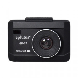 Автомобильный видеорегистратор Eplutus GR-97 с радар-детектором и GPS-информером