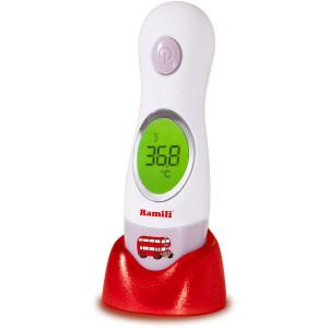 Бесконтактный Ramili Инфракрасный ушной и лобный термометр ET3030