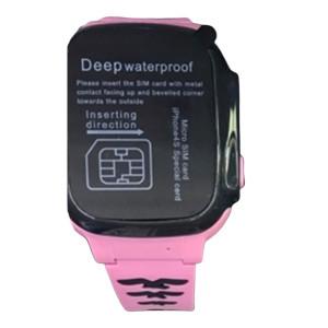 Умные детские часы с телефоном и GPS Трекером  SMART BABY WATCH F6 (РОЗОВЫЙ)