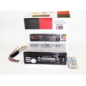 АвтомагнитолаSony CDX-GT1235― USB флешки + SD карты памяти + AUX + FM (4x50W)