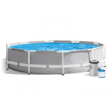 Каркасный бассейн Intex Prism Frame 305x76 см + фильтр-насос 1250 л/ч (26702) #0