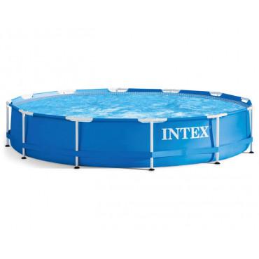 Каркасный бассейн Intex Metal Frame 366х76 см (28210) #0