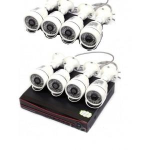 Комплект IP видеонаблюдения 8 камер XPX K3908 (1 Mp)