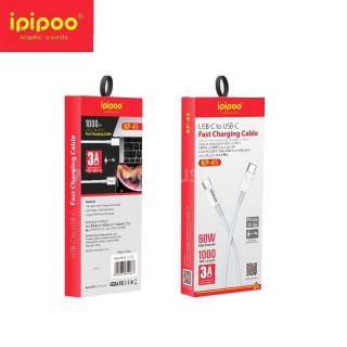 Кабель USB-C to USB-C Ipipoo KP-45