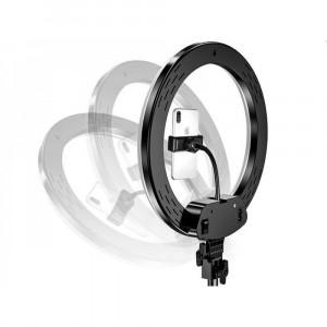Светодиодная кольцевая лампа для селфи 30см