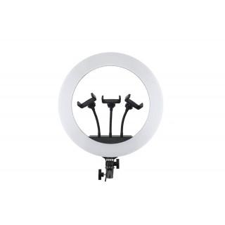 Светодиодная кольцевая лампа для селфи и видеосъемок 45 см HQ-18N