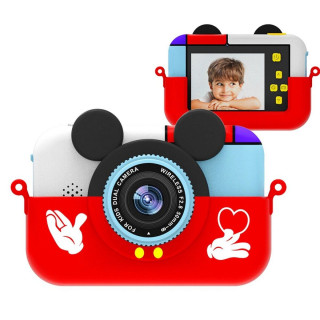 Детский цифровой фотоаппарат Микки Маус