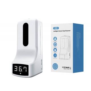 Автоматический дозатор с бесконтактным термометром K9
