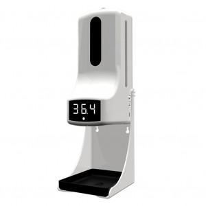 Автоматический дозатор с бесконтактным термометром K9 Pro