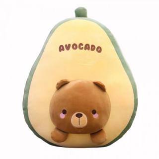 Мягкая игрушка-подушка Авокадо 35см