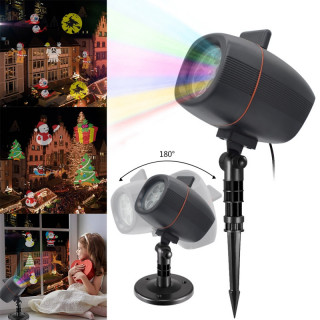 "Лазерный проектор ""Plug-in card lawn lamp"" XL803"