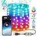 Светодиодная новогодняя LED гирлянда 10 метров 100 лампочек с пультом  #1