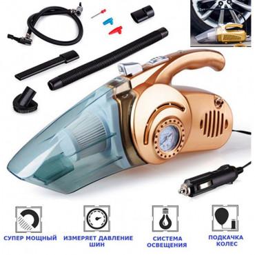 Автомобильный пылесос 4 в 1 Car Vacuum Cleaner #0