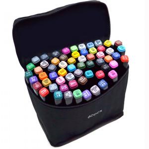 Набор двухсторонних маркеров Touch PCS 60 цветов