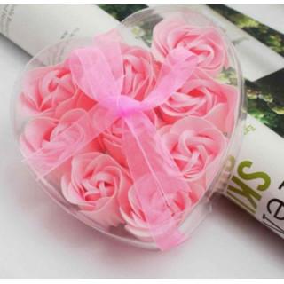 Набор мыло ароматизированное Роза (9 шт) FL-002