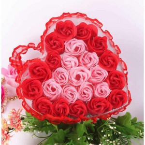 Набор мыло ароматизированное Роза (24 шт) FL-003