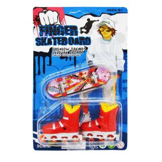 Фингерборд и ролики Finger Skateboard Fashion Trends 2 в 1