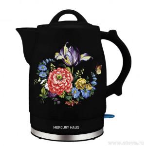 "Чайник электрический из керамики ""MercuryHaus"", MC - 6745  2,0 л."