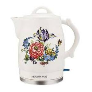 "Чайник электрический из керамики ""MercuryHaus"", MC - 6746  2,0 л."