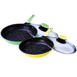 Алюминиевая сковорода с крышкой Maestro Ceramic MR-1220