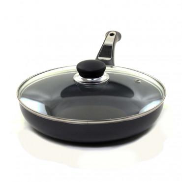 Алюминиевая сковорода с крышкой Maestro MR-1203 #0