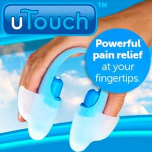 Пальцевый массажер-миостимулятор uTouch MS-067