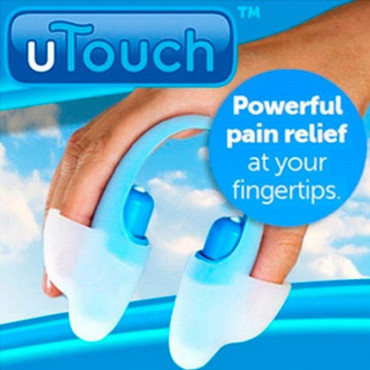 Пальцевый массажер-миостимулятор uTouch MS-067 #0