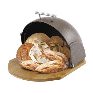 Хлебница Maestro Granite MR-1678G-BR
