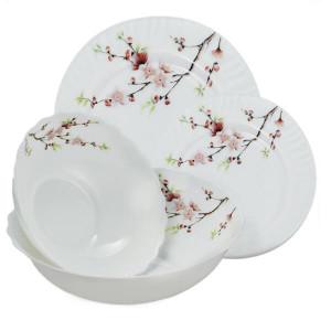 "Набор посуды 19 предметов ""Сакура"" Maestro MR-30067-19S"