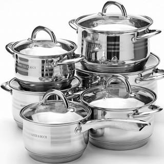 Набор посуды 12 предметов Mayer&Boch 25155
