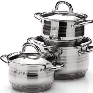 Набор посуды 6 предметов Mayer&Boch 25668