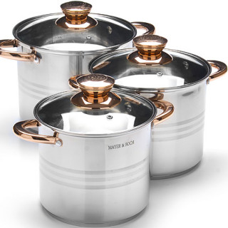 Набор посуды 6 предметов Mayer&Boch 27553