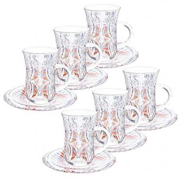 Чайный набор 12 предметов Loraine 27089 #0