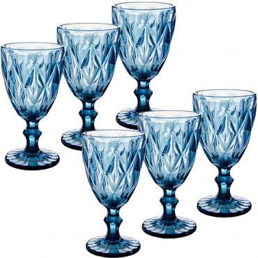 Набор бокалов 6 предметов 337 мл Loraine 29673  #0