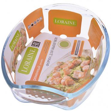 Стеклянная форма для выпечки 3.9л Loraine 20666  #0