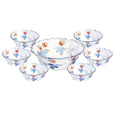 Набор салатниц 7 предметов Loraine 22759 #0
