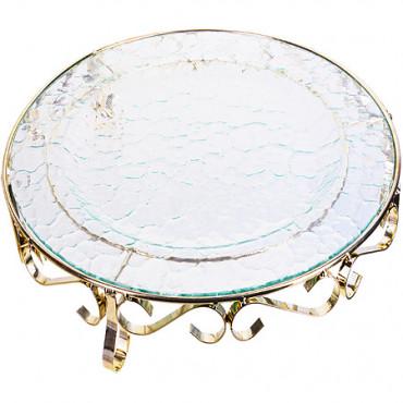 Блюдо стеклянное 35 см Loraine 28670  #0