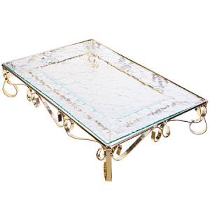 Блюдо стеклянное 36,5х26 см Loraine 28671