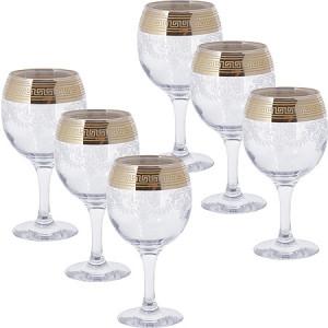 Набор из 6 бокалов 260мл для вина MS411-02