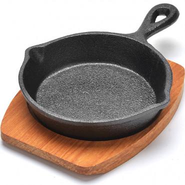 Чугунная сковорода 13,5см Mayer&Boch 26794  #0
