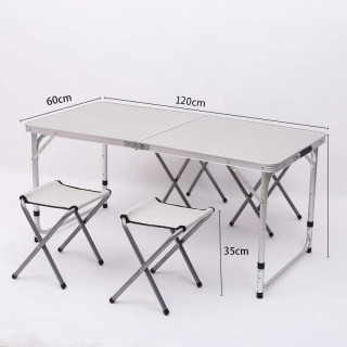 Складной стол со складными табуретками CH020 Mimir Outdoor